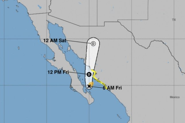 Tropical Depression Three-E Forms South of Mexico; Aletta Rapidly Weakening South of Baja California