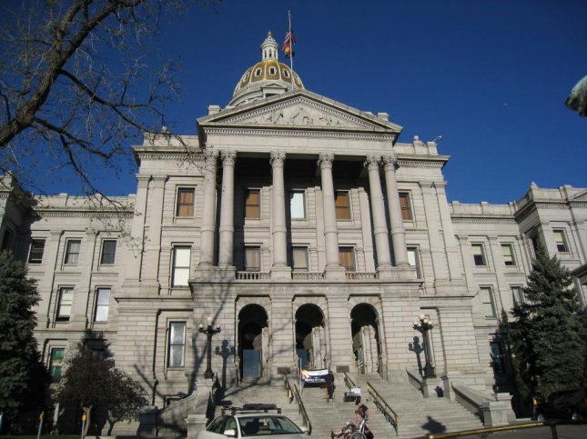 The courthouse in Denver, where depositions for in James Neisler's lawsuit began earlier this week. (CC/ Justin A. Wilcox)