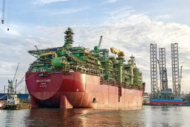 Premiere Oil said its Catcher complex in the North Sea reached its peak design capacity less than a year after operations began. Photo courtesy of Premiere Oil