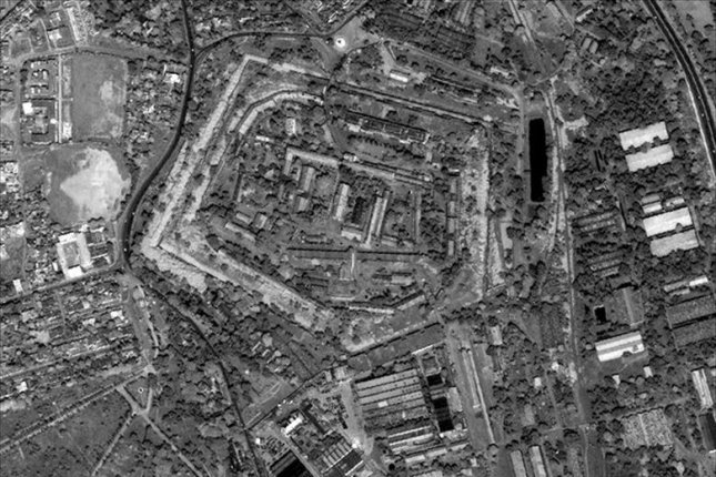 NGS surveillance footage of Islamabad, Pakistan. BAE Systems has been selected by NGA to provide analysis and support for the agency's three Janus programs. Photo courtesy of the NGS/U.S. Air Force