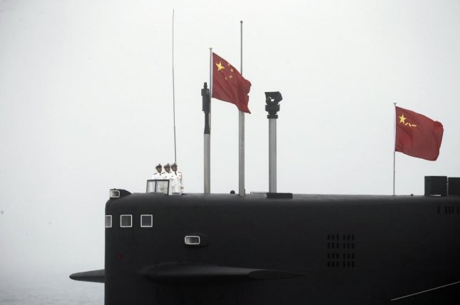 China's People's Liberation Army held an unexpected drill in Bohai Bay that may have included submarine-launched ballistic missiles, according to multiple reports. File Photo by Wu Hong/EPA-EFE