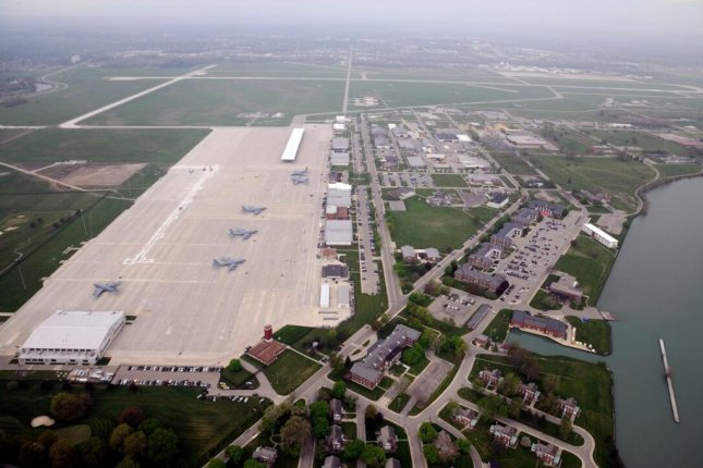 Six military bases in the Great Lakes region, including Michigan's Selfridge Air National Guard Base, which sits on the coast of Lake St. Clair, have dangerously high levels of toxic PFAS chemicals present in their groundwater, according to a new report. Photo by Senior Airman Ryan Zeski/U.S. Air National Guard
