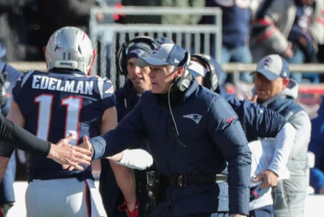 New England Patriots offensive line coach Dante Scarnecchia was the NFL's longest-tenured coach with one team. Photo courtesy of New England Patriots/Official Website