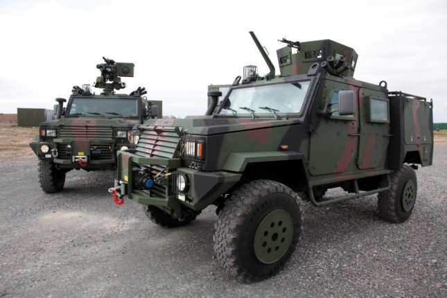 The RG32M is a mine-resistant 4x4 vehicle used by peace-keeping, security and combat forces. Photo by Irish Defense Forces/Wikimedia Commons
