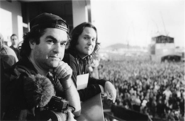 Joe Berlinger and Bruce Sinofsky in 2004. Joe Berlinger/Twitter