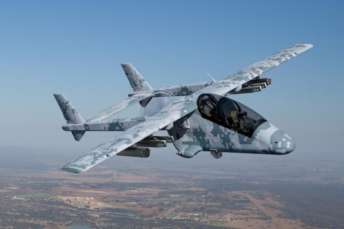 Weaponized South African surveillance plane under ...