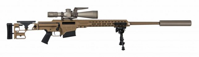 The Army has made a $49.9 million, five-year deal to buy MK22 Multi-role Adaptive Design rifles from Barrett Firearms. Photo courtesy U.S. Army