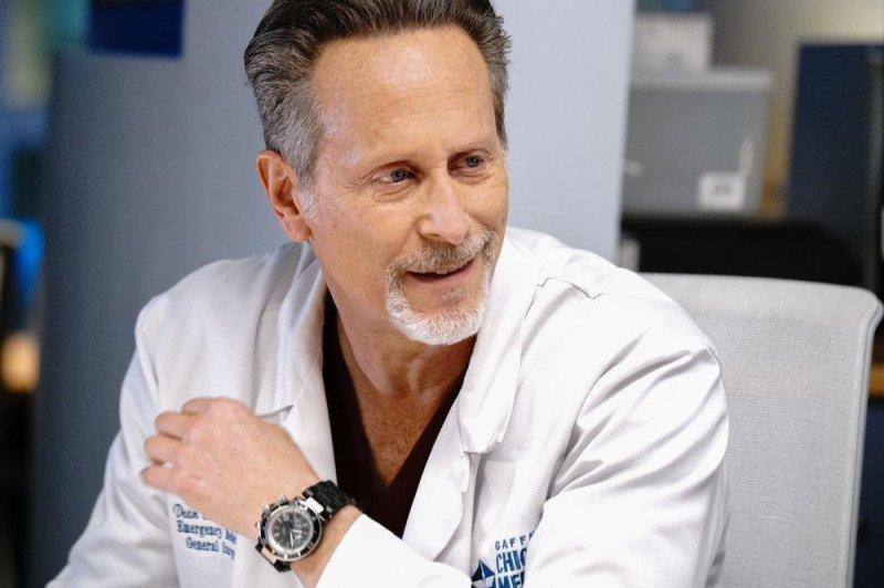 Steven Weber stars as Dr. Dean Archer on Chicago Med. Photo by Elizabeth Sisson/NBC