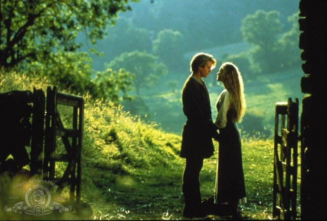 Cary Elwes and Robin Wright in a scene from The Princess Bride, one of 25 films added to the National Film Registry in 2016. Image courtesy MGM