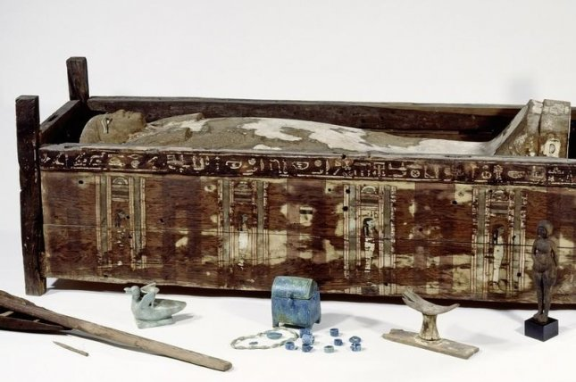 Researchers used genetic samples collected from 151 ancient Egyptian mummies to conduct their genomic survey. Photo by bpk/Aegyptisches Museum und Papyrussammlung, SMB/Sandra Steiss
