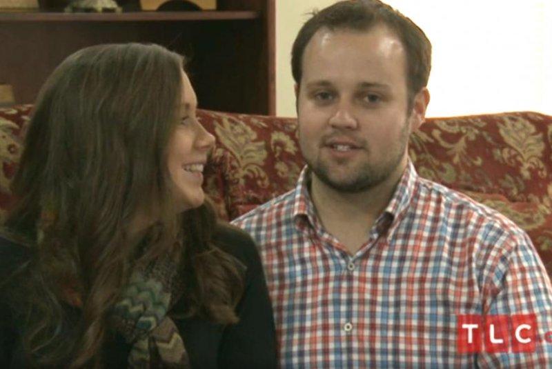 Josh Duggar and wife Anna Duggar announced their pregnancy last year; their baby girl is due in July. Screenshot by TLC.com