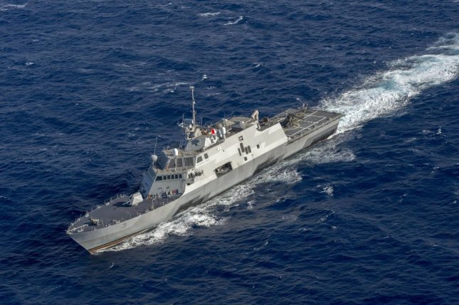 The Anti-Submarine Warfare Mission Package for the Littoral Combat Ship has been accepted by the Navy following testing. Pictured, the USS Fort Worth of the Freedom-class variant. Photo by Mass Communication Specialist 2nd Class Antonio P. Turretto Ramos/U.S. Navy