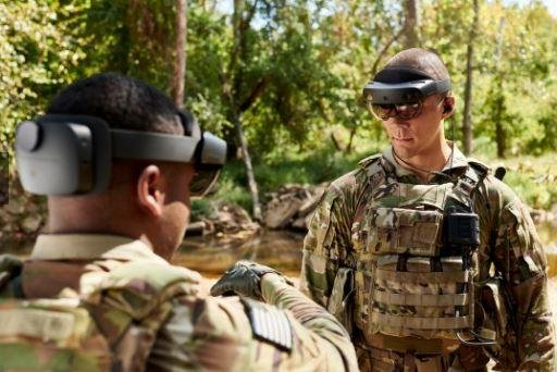 An improved version of the U.S. Army's Integrated Visual Augmentation System of high-tech goggles will start field testing in October. Photo courtesy of U.S. Army
