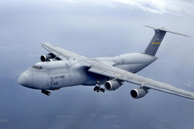 Lockheed Martin says the C-5M Super Galaxy is capable of moving cargo faster and farther than any other airlifter. Photo courtesy of Lockheed Martin