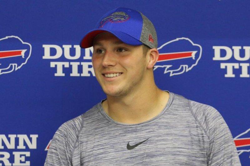 Buffalo Bills rookie QB Josh Allen not feeling pressure - UPI.com 8fbb6729a9e