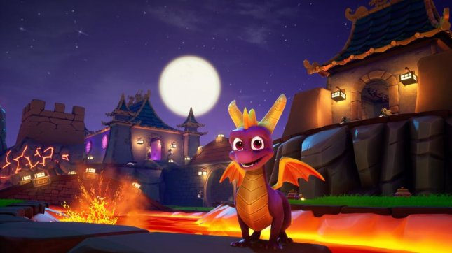 The Spyro the Dragon series has been completely remade in Spyro Reignited Trilogy. Image courtesy of Activision