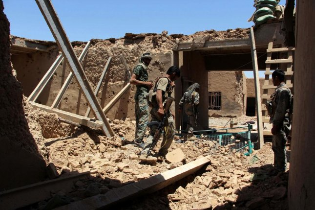 At leat 15 Afghan police dead in friendly fire air attack