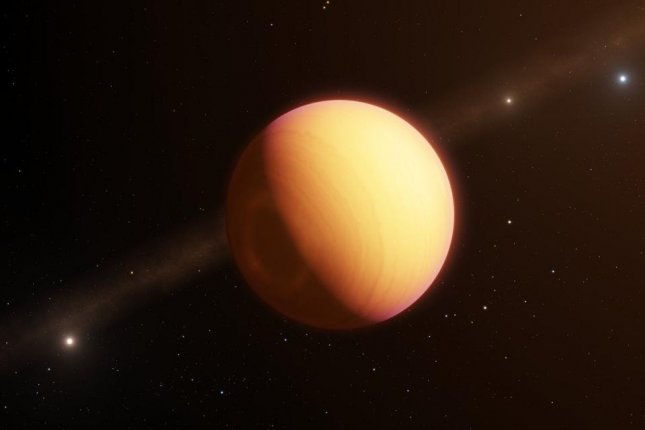 The Very Large Telescope's GRAVITY instrumented rendered the spectrum of light passing through an exoplanet's atmosphere in unprecedented detail. Photo by ESO/L. Calçada