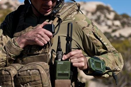 Harris Corporation is producing specialized radios for Special Operations troops. Photo: Harris Corp.
