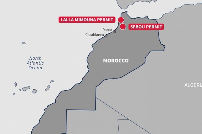 Earth movement in northern Morocco forces energy company to curb natural gas activity in the region. Map courtesy of Circle Oil.