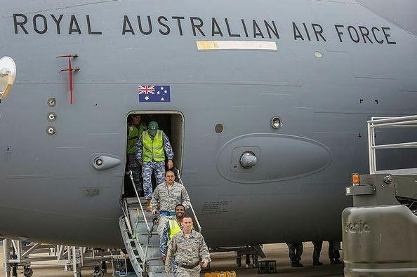 The U.S. Air Force and the Royal Australian Air Force reached a cross-servicing agreement on C-17A cargo planes, the Australian Defense Department announced Friday. Photo courtesy of RAAF