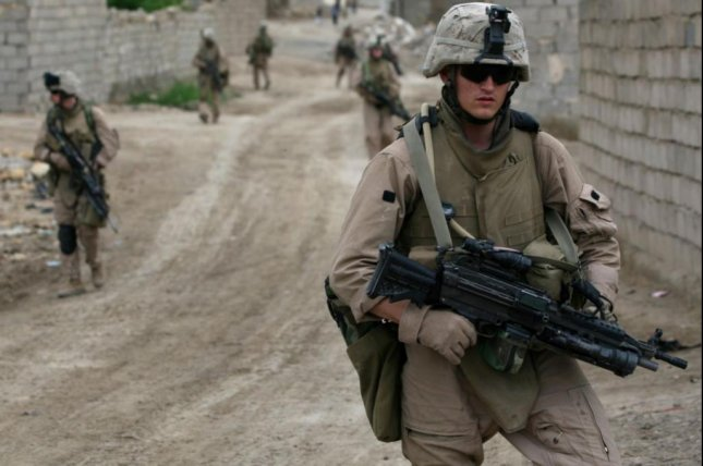 Acting Defense Secretary Christopher Miller announced on Friday that U.S. troop presence in Iraq and Afghanistan has declined to about 2,500 troops in each country. Photo by Cpl. Neill A. Sevelius/U.S. Marine Corps