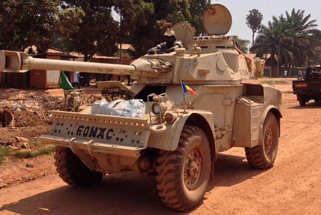 An armored car of the Chadian army. CC/ wikimedia.org/ Voice of America/ Idriss Fall