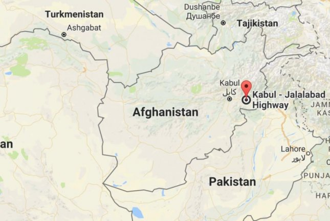 US Troops Wounded In Explosion In Jalalabad Afghanistan UPIcom - Afghanistan map us