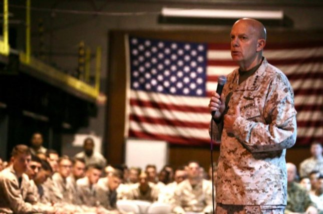 U.S. Marine Corps Commandant Gen. David Berger called for a realignment of U.S. forces in the Indo-Pacific region, to meet a new threat from China. Photo courtesy of U.S. Marine Corps