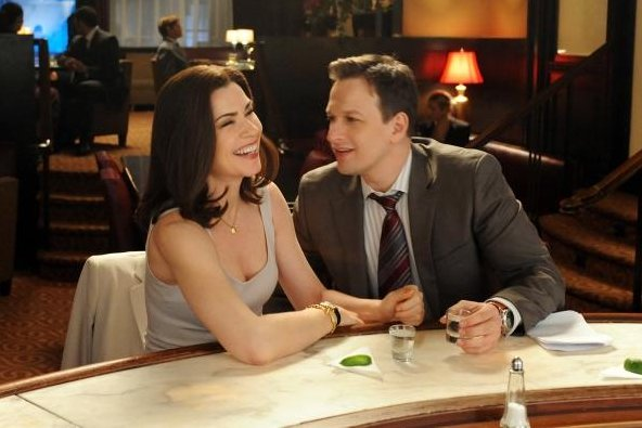 Alicia Florrick (Julianna Margulies) and Will Gardner (Josh Charles) in 'The Good Wife.' (CBS)