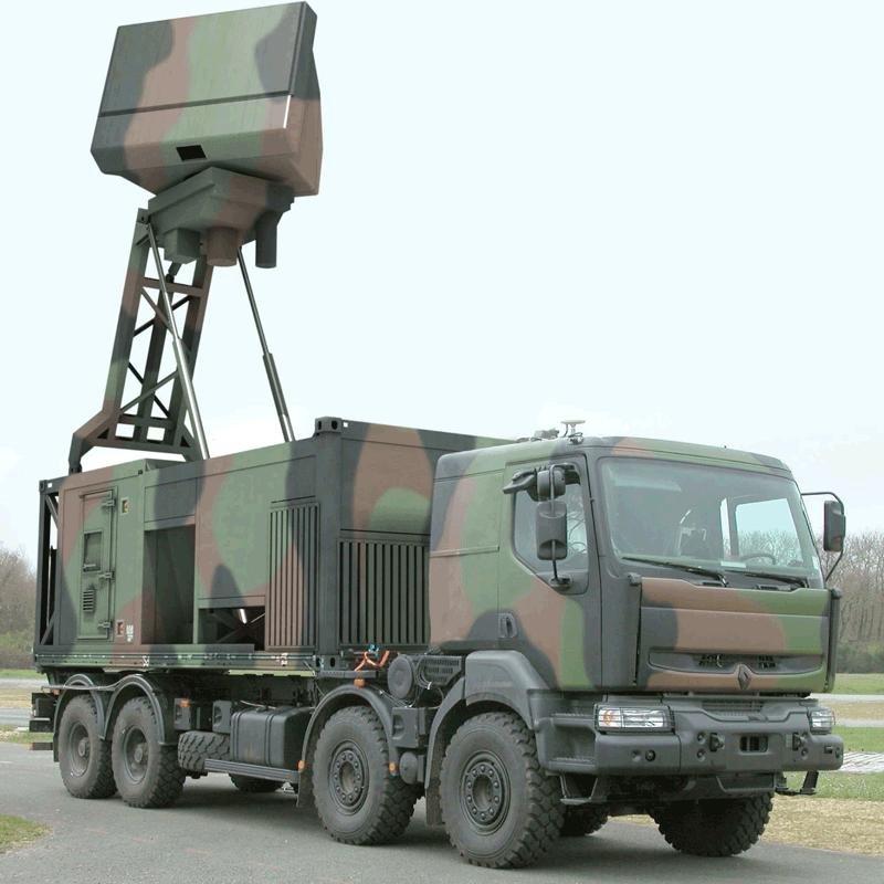 thales unveils ground master 60 mobile radar. Black Bedroom Furniture Sets. Home Design Ideas
