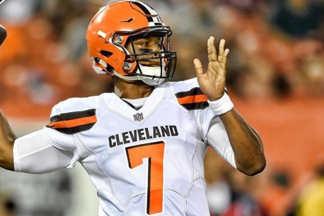 Three weeks into his first NFL preseason, DeShone Kizer emerged as the starting quarterback of the Cleveland Browns. Photo courtesy of Cleveland Browns/Twitter