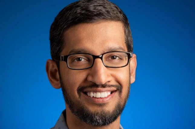 Google CEO Sundar Pichai is supporting Apple in its fight against the federal government attempting to force the tech giant to create a back door into the cellphone data of the San Bernardino attackers. Photo courtesy of Sundar Pichai/Twitter