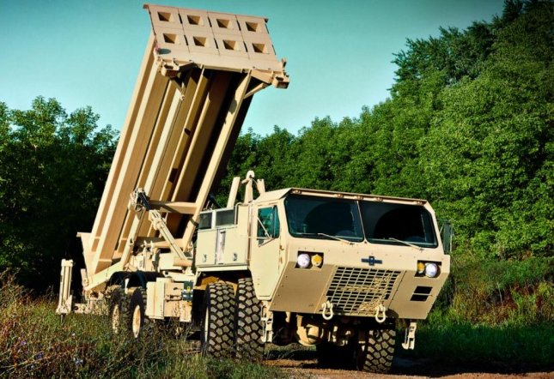 Oshkosh Defense received a $146.8 million U.S. Army contract to modernize the U.S. Army's fleet of the Family of Heavy Tactical Vehicles. Photo courtesy of Oshkosh Defense