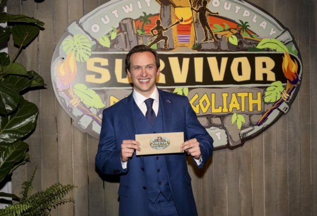 Survivor: David vs. Goliath winner Nick Wilson who won the competition series over Angelina Keeley and Mike White. Photo by Monty Brinton/CBS Entertainment