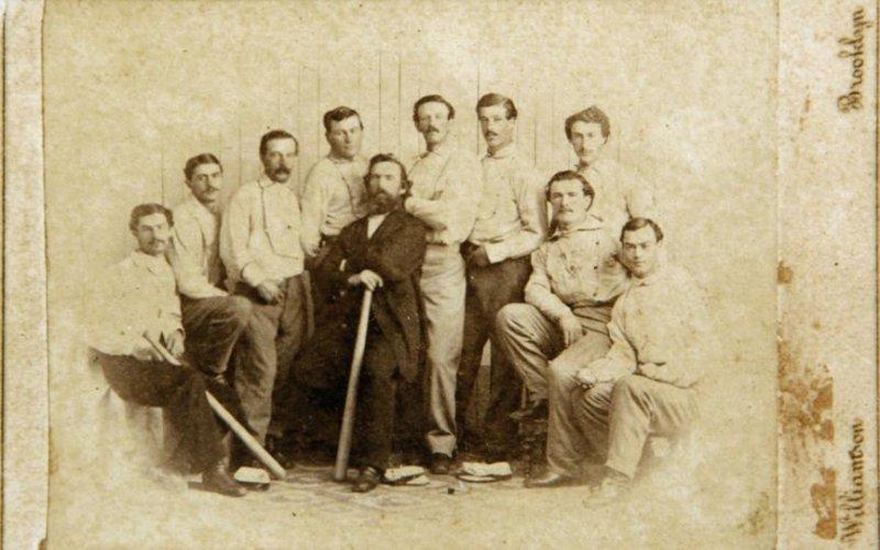 The 1865 Brooklyn Atlantics. (Saco River Auctions)