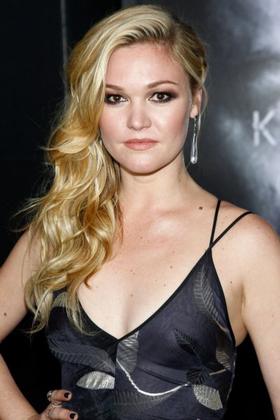 Riviera star Julia Stiles said filming for the movie Esther in Winnipeg, Manitoba, is proving to be an unusual experience due to the COVID-19 safety measures on set. File Photo by James Atoa/UPI