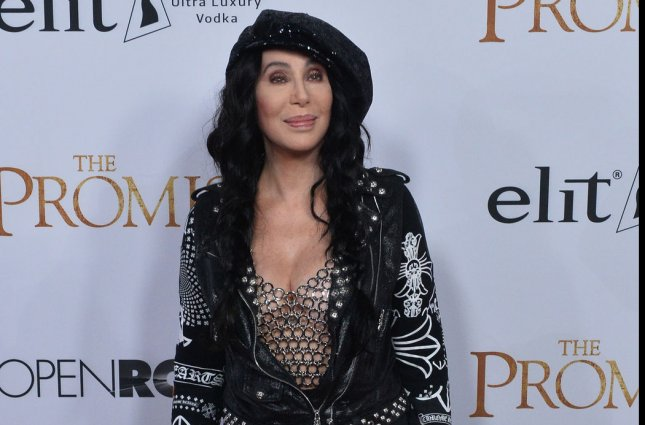 Cher attends the premiere of The Promise in Los Angeles on April 12. The singer and actress will be the subject of a Broadway musical in 2018. File Photo by Jim Ruymen/UPI