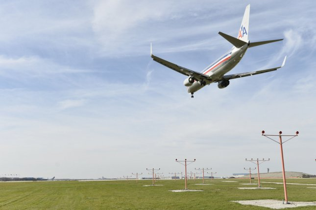 Frequent flier programs only encourage travelers to take flights and increase demand, which facilitates more carbon emissions, the study said. File Photo by Brian Kersey/UPI
