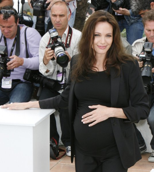 Actress Angelina Jolie in Cannes, France on May 20, 2008. (UPI Photo/David Silpa)