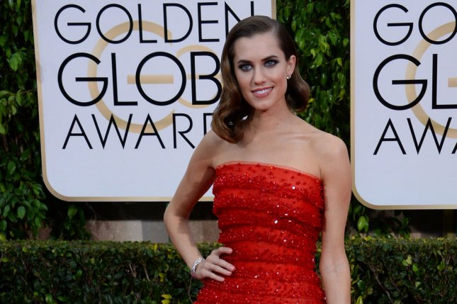 Allison Williams attends the 72nd annual Golden Globe Awards on Jan. 11. Her Girls character, Marnie prepares to marry Desi in the Season 5 preview. File Photo by Jim Ruymen/UPI
