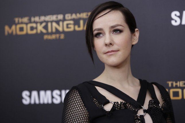 Jena Malone at the New York premiere of The Hunger Games: Mockingjay - Part 2 on November 18, 2015. The actress is engaged to Ethan DeLorenzo. File Photo by John Angelillo/UPI