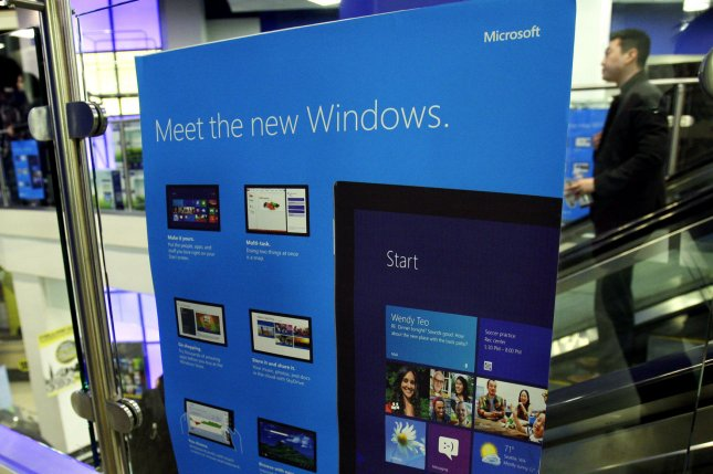 Microsoft Hungary sold its software at a discount, but instead of passing the savings on to customers, it used the money for corrupt practices, the Justice Department said. File Photo by John Angelillo/UPI