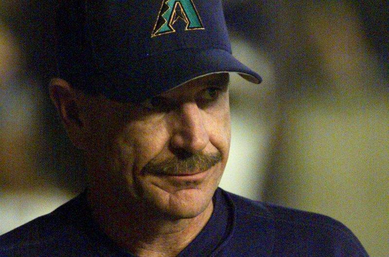 Bally Sports Arizona television analyst Bob Brenly, shown Oct. 4, 2001, served as the Arizona Diamondbacks' manager from 2001-04. File Photo by Will Powers/UPI