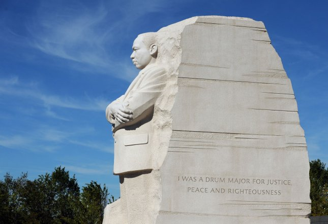 The Martin Luther King Jr. Memorial is seen in Washington, DC, on August 23, 2011. UPI/Roger L. Wollenberg