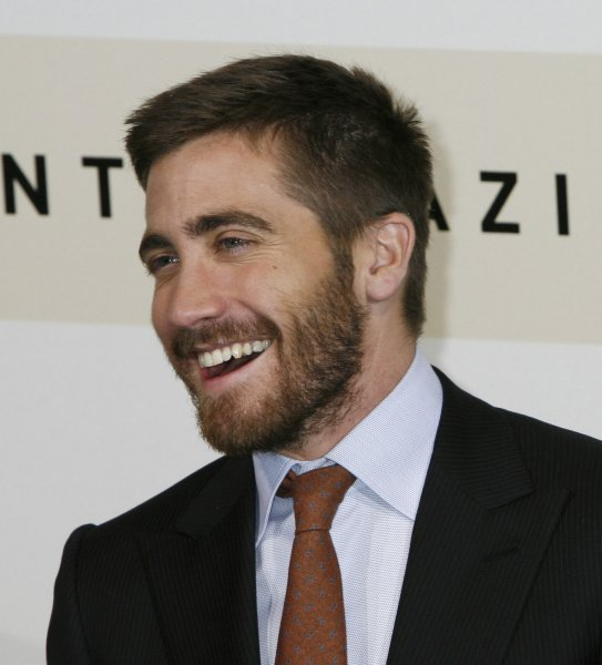 Actor Jake Gyllenhaal arrives at the Rome Film Festival in Rome on October 21, 2007. Gyllenhaal is in Rome with his film Rendition. (UPI Photo/David Silpa)