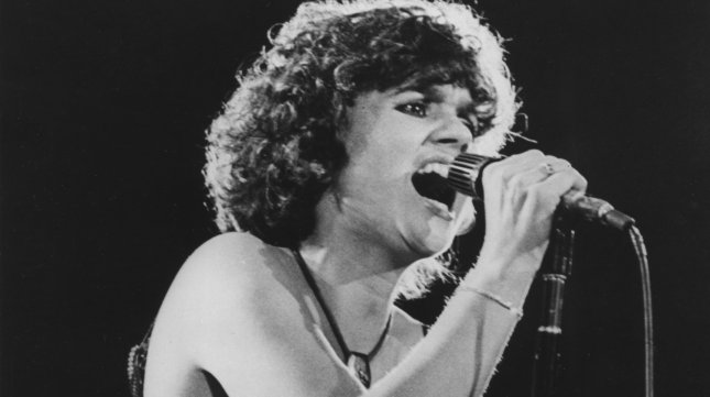 Linda Ronstadt in concert as she performed at the Providence Civic Center on August 8, 1978. (UPI Photo/lsm/Files)