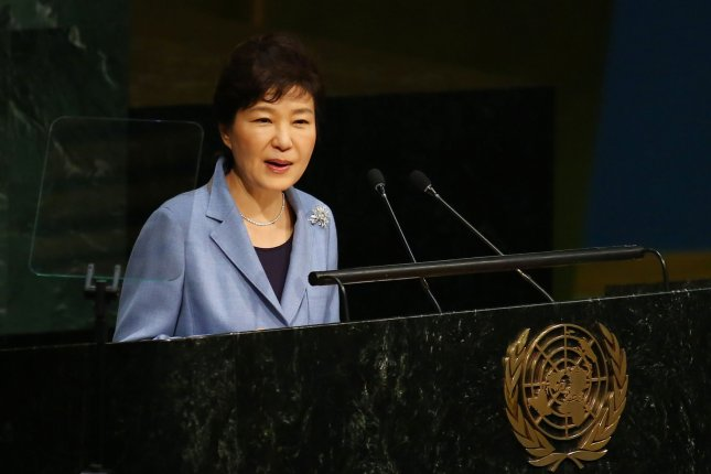 South Korean President Park Geun-hye announced a new policy to replace textbooks with a government-issued text, after South Korean conservatives complained the current books are not critical enough of the North Korean regime. Photo by Monika Graff/UPI