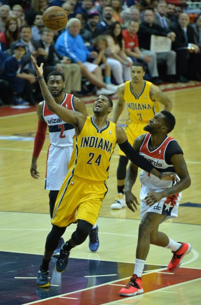 901c0895890 Paul George of the Indiana Pacers has informed the team he intends to opt  out of his contract next summer. UPI Kevin Dietsch