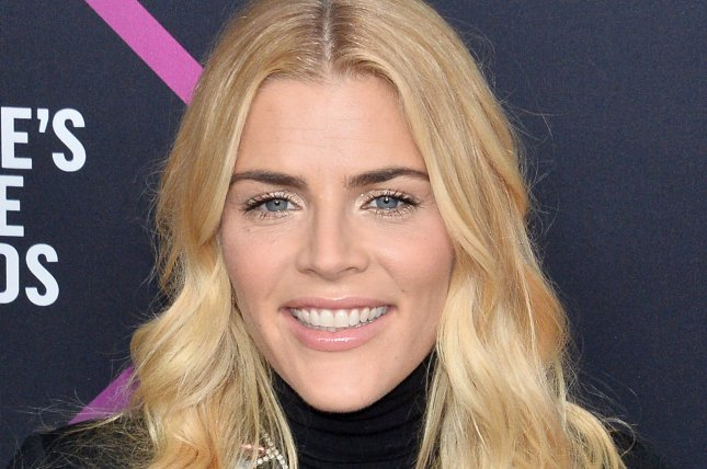 Busy Philipps said an emotional farewell during her final episode of Busy Tonight. File Photo by Jim Ruymen/UPI
